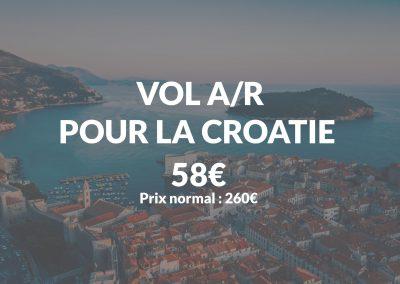 bon plan voyage croatie