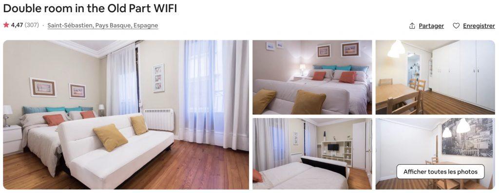 airbnb san sebastian proche mer