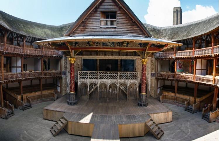 Globe Théâtre de Shakespeare à Londres