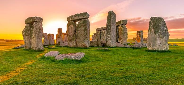 Stonehenge à Londres en Janvier