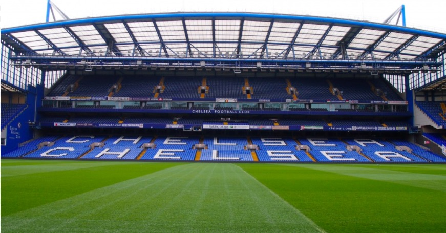 Stade à Londres en Janvier