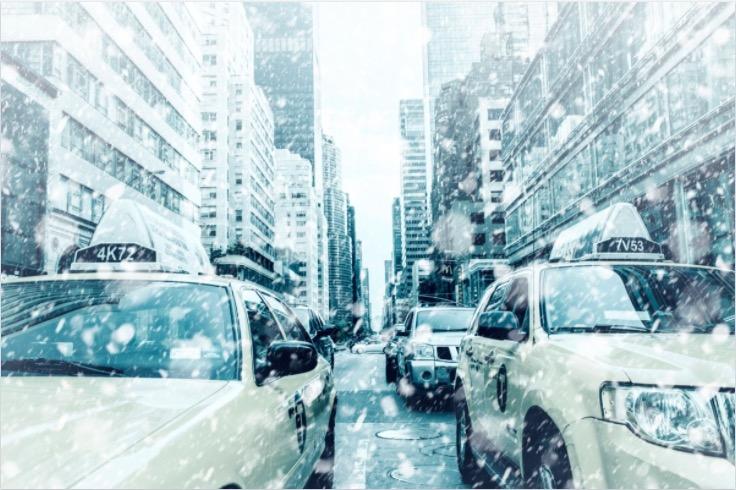 Ville de New York en Hiver