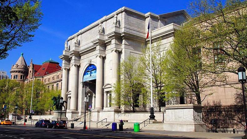 Musée américain d'histoire naturelle à New York