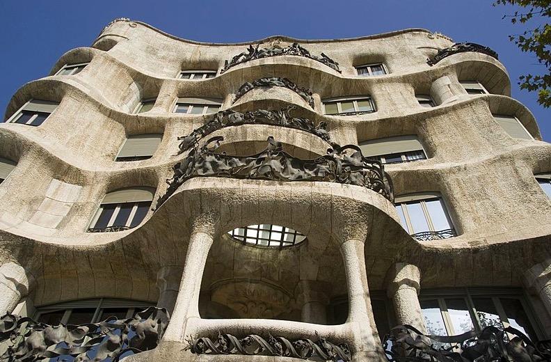 Casa Milà à Barcelone