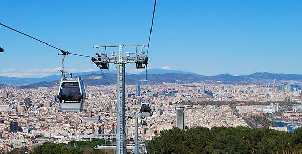 Téléférique de Montjuic à Barcelone