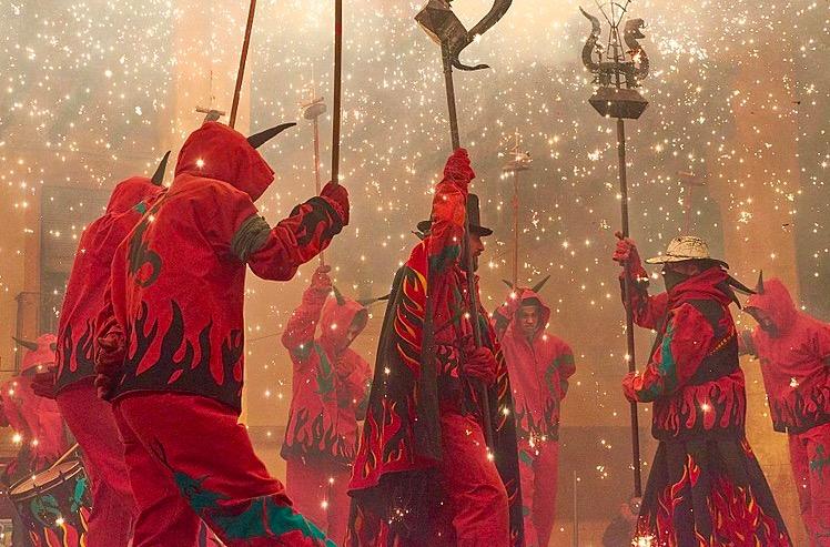 FESTA MAJOR DE SANT ANTONI à Barcelone en Janvier