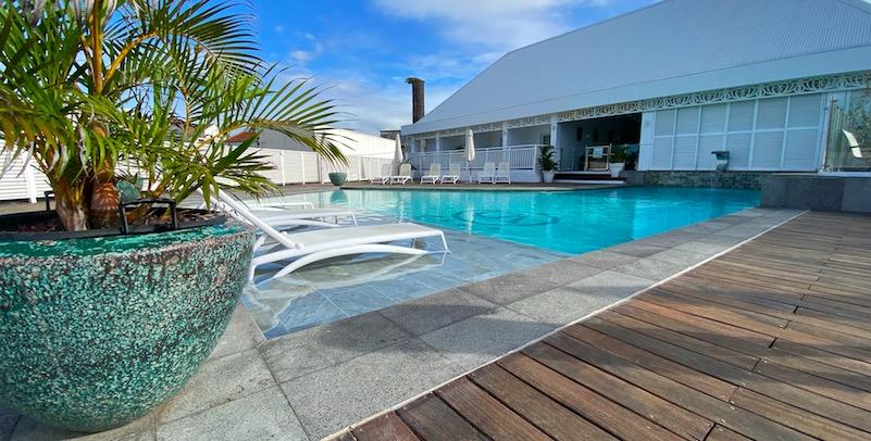 Villa Delisle: La piscine