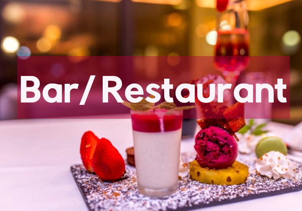 Villa Delisle: Les Bars/Restaurants